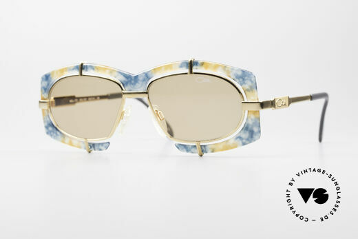 Cazal 872 Haute Couture Sonnenbrille Details
