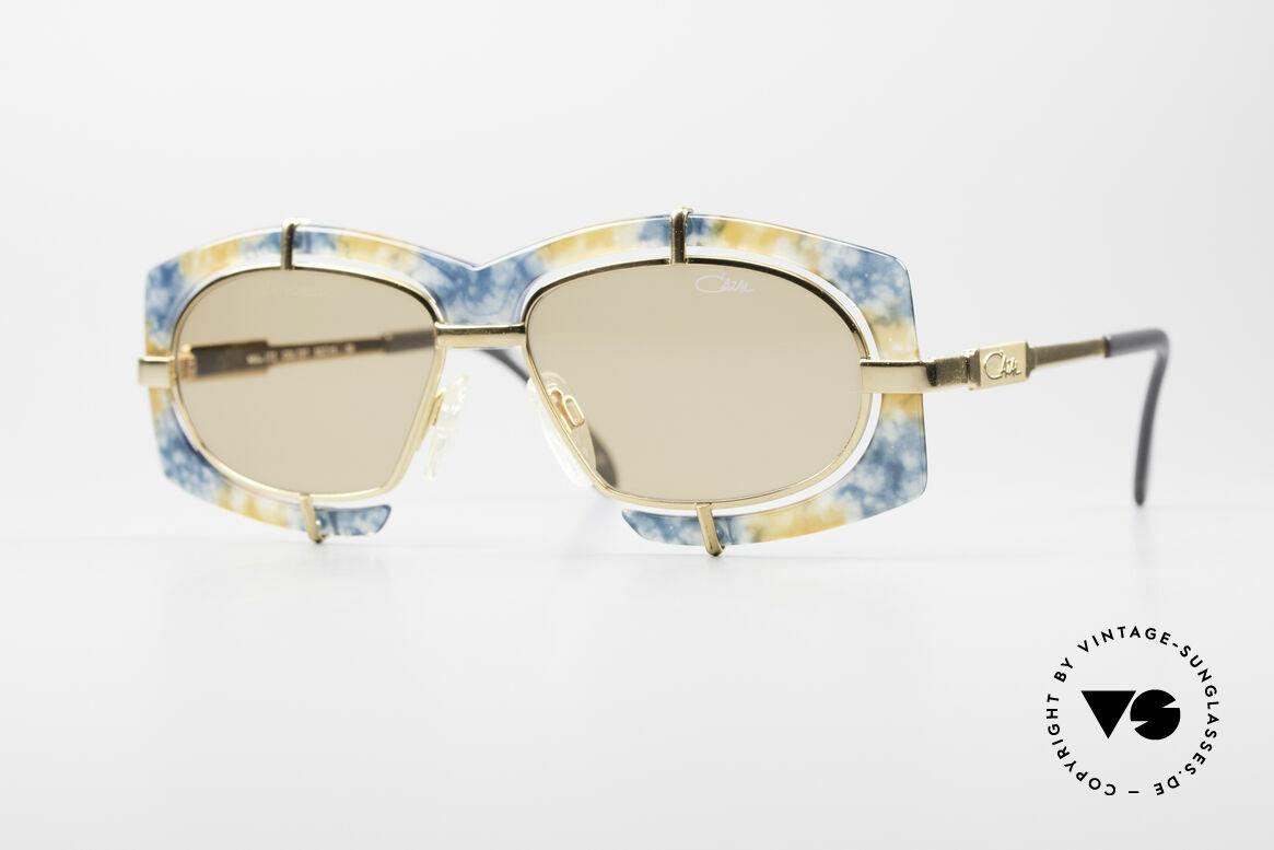 Cazal 872 Haute Couture Sonnenbrille, verrückte Cazal Designersonnenbrille der frühen 90er, Passend für Herren und Damen