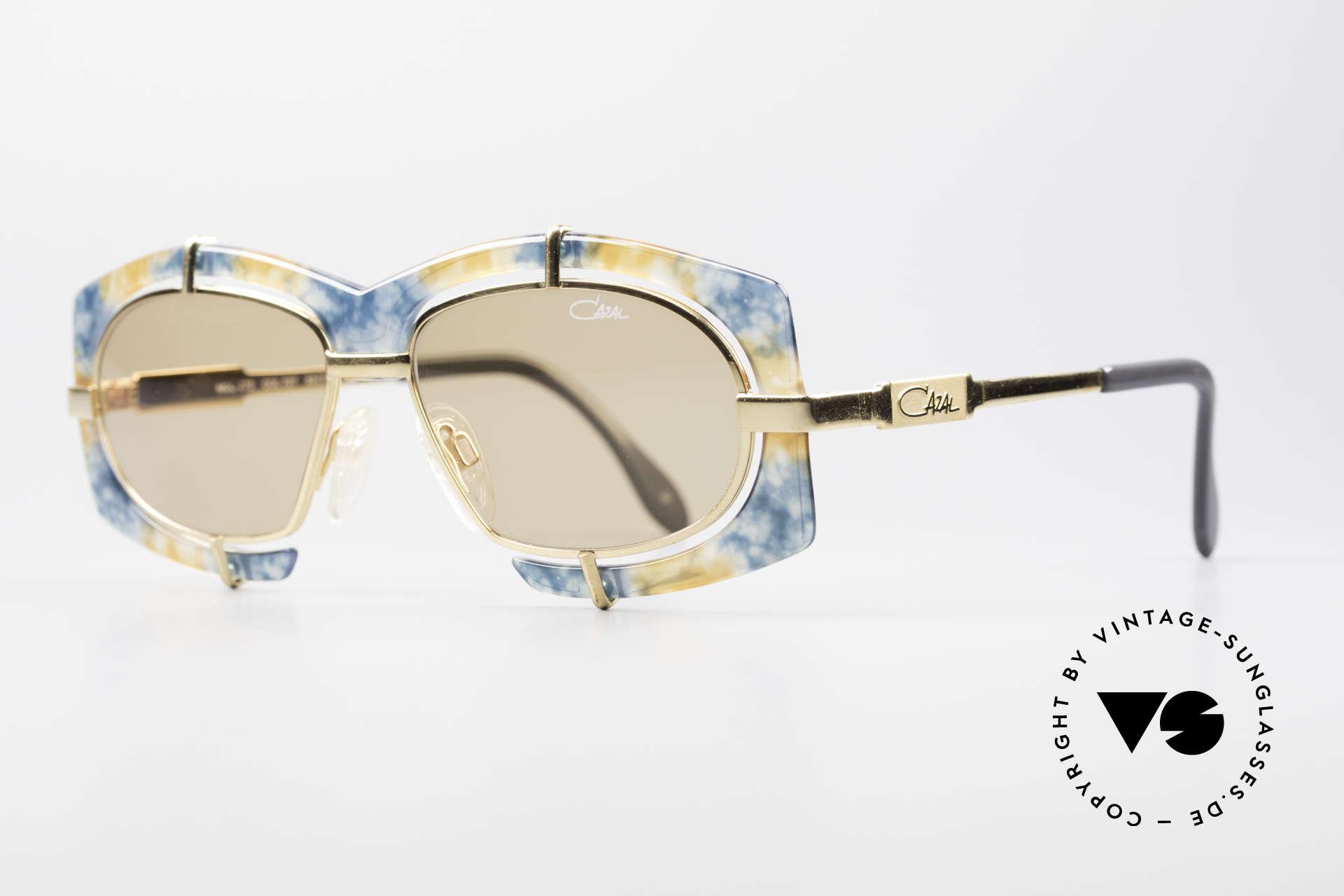 Cazal 872 Haute Couture Sonnenbrille, pompöse Haute Couture Brille - charakteristisch Cazal, Passend für Herren und Damen