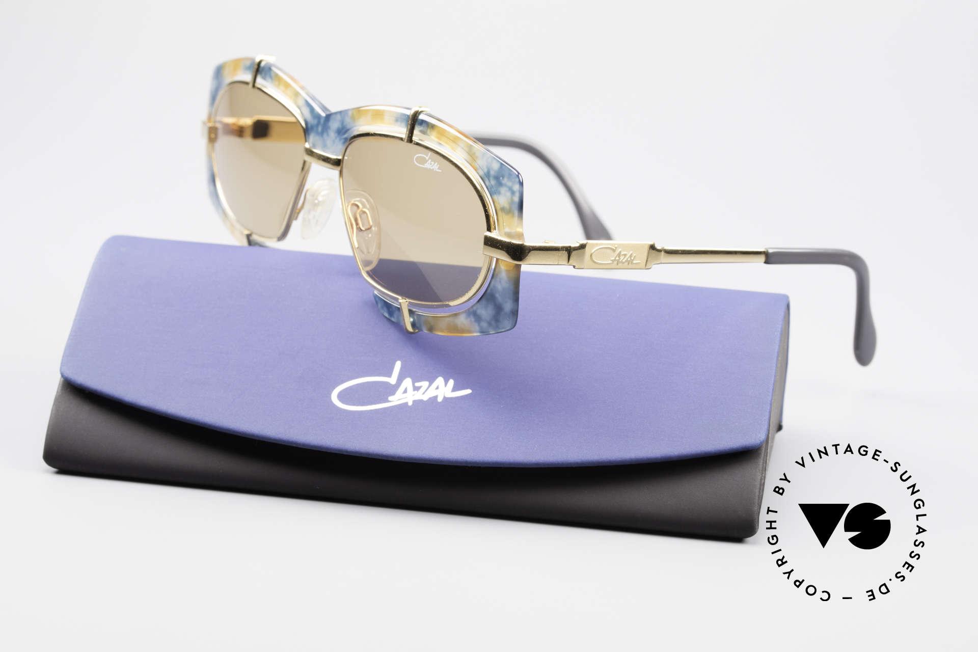 Cazal 872 Haute Couture Sonnenbrille, KEINE Retrosonnenbrille; eine ca. 25 Jahre alte Rarität!, Passend für Herren und Damen