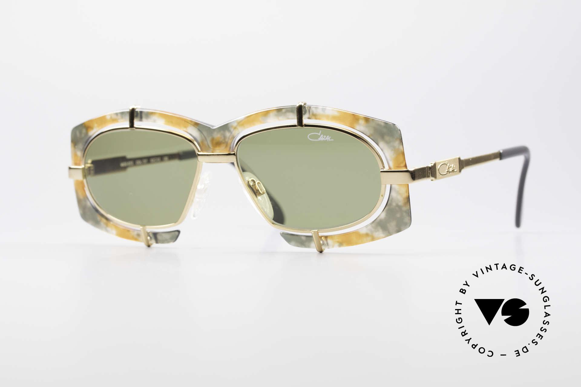Cazal 872 Außergewöhnliche 90er Brille, verrückte Cazal Designersonnenbrille der frühen 90er, Passend für Herren und Damen