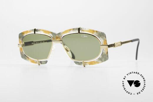Cazal 872 Außergewöhnliche 90er Brille Details