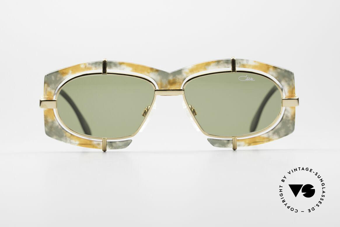 Cazal 872 Außergewöhnliche 90er Brille, extravagante Linsenaufhängung u. Rahmenmusterung, Passend für Herren und Damen