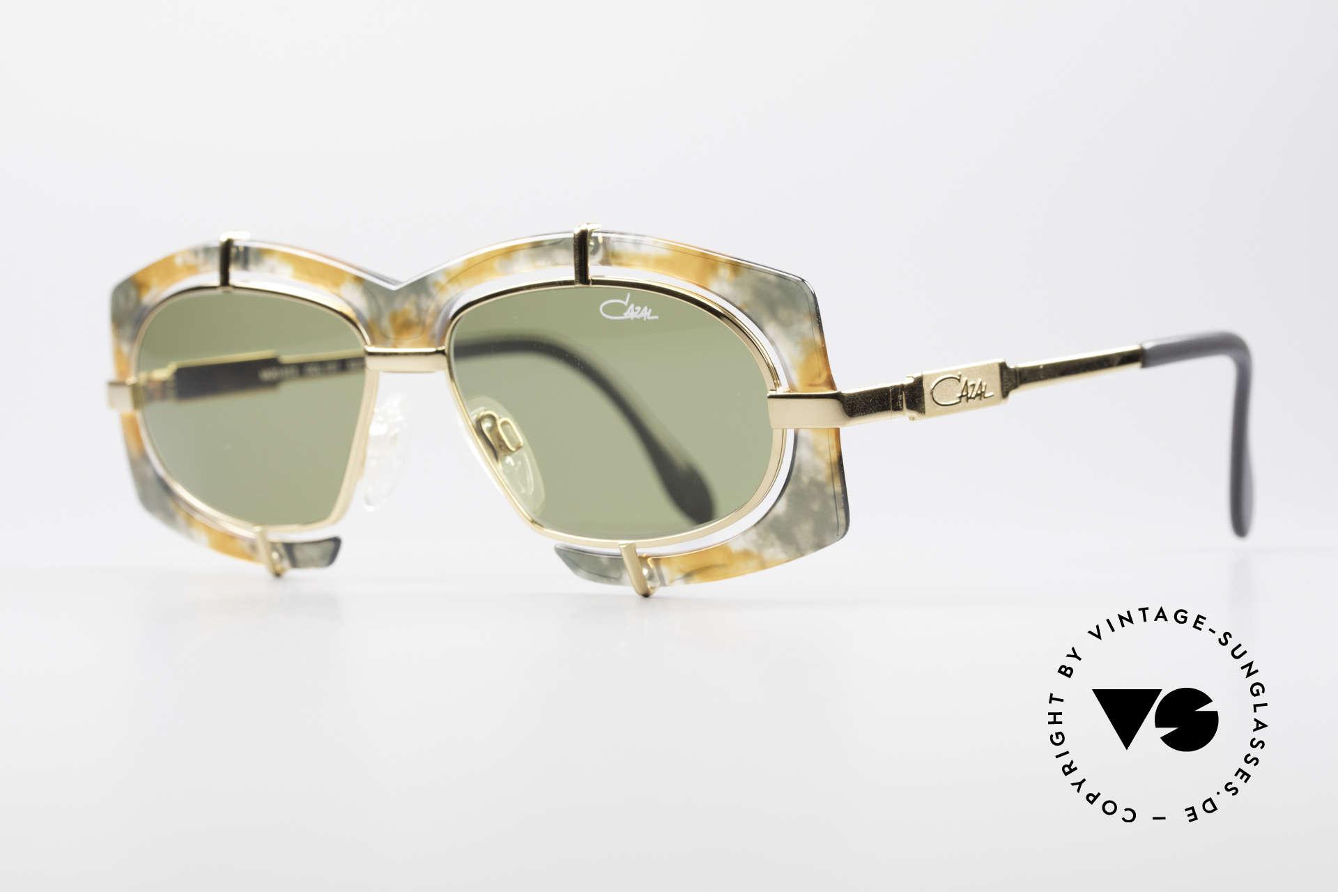 Cazal 872 Außergewöhnliche 90er Brille, pompöse Haute Couture Brille - charakteristisch Cazal, Passend für Herren und Damen