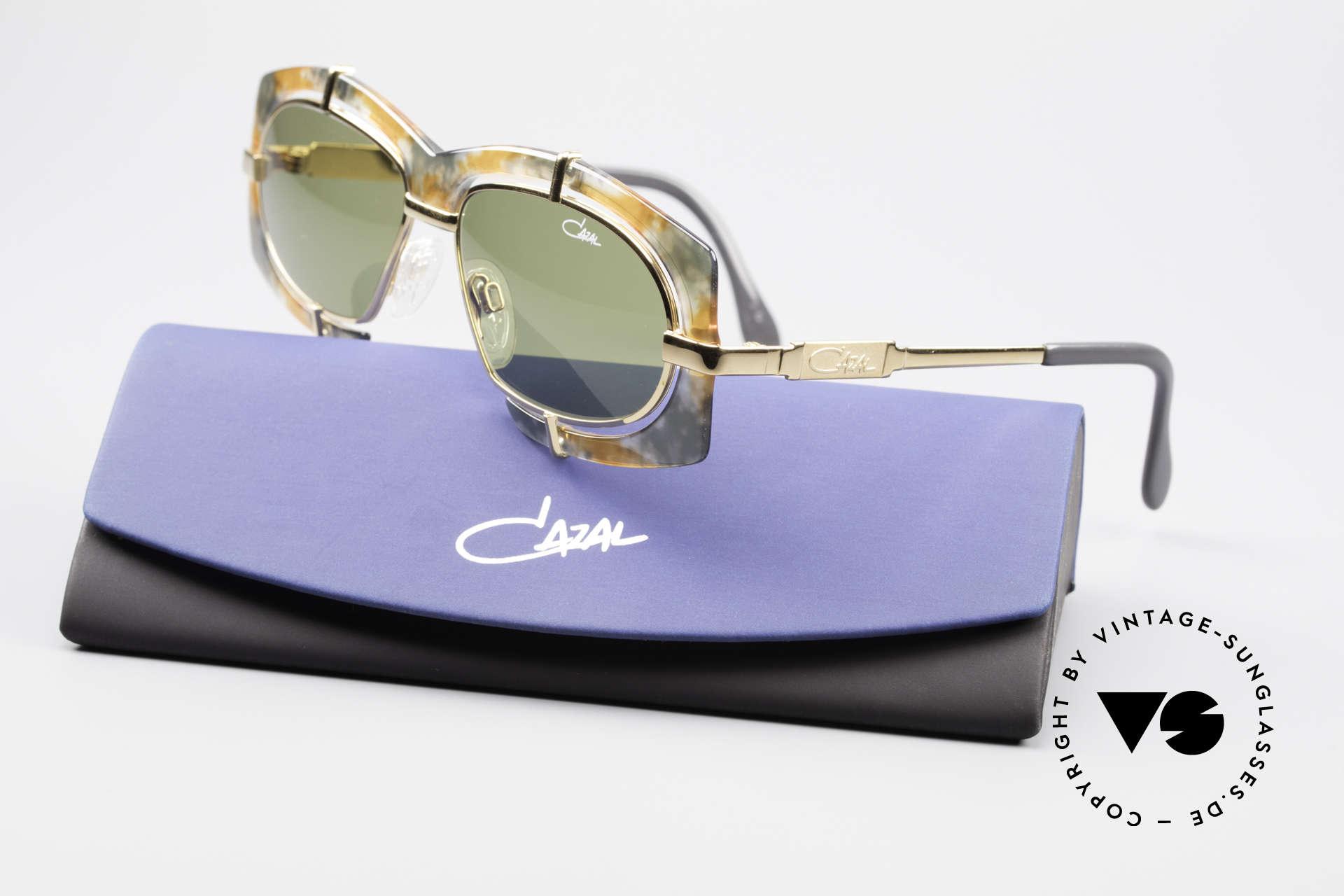 Cazal 872 Außergewöhnliche 90er Brille, KEINE Retrosonnenbrille; eine ca. 25 Jahre alte Rarität!, Passend für Herren und Damen