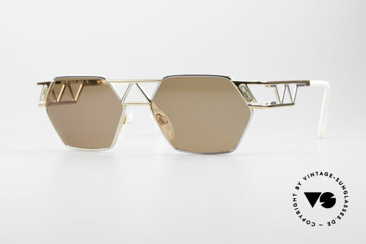 Cazal 960 90er Designer Sonnenbrille Details