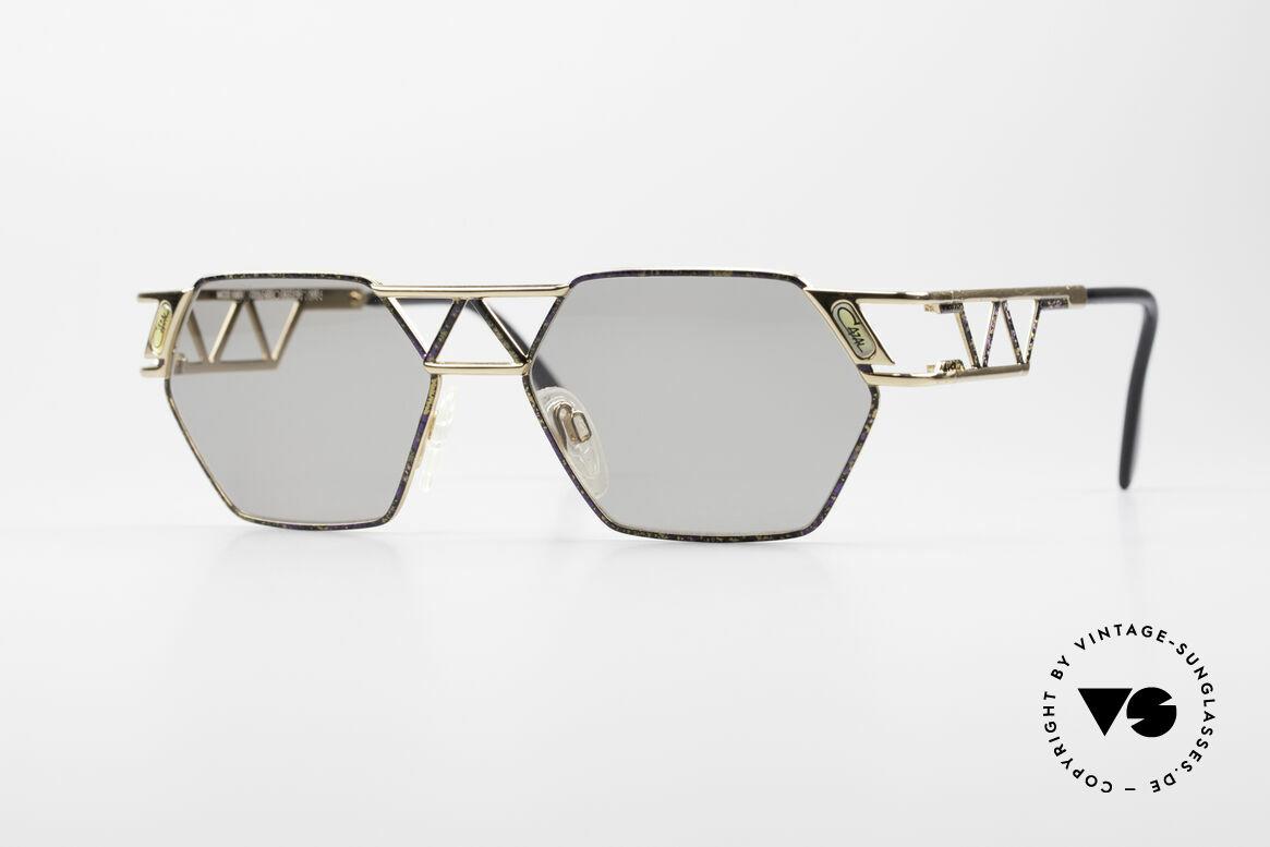 Cazal 960 Vintage Designer Sonnenbrille, kantige Cazal Designersonnenbrille von circa 1994, Passend für Herren und Damen