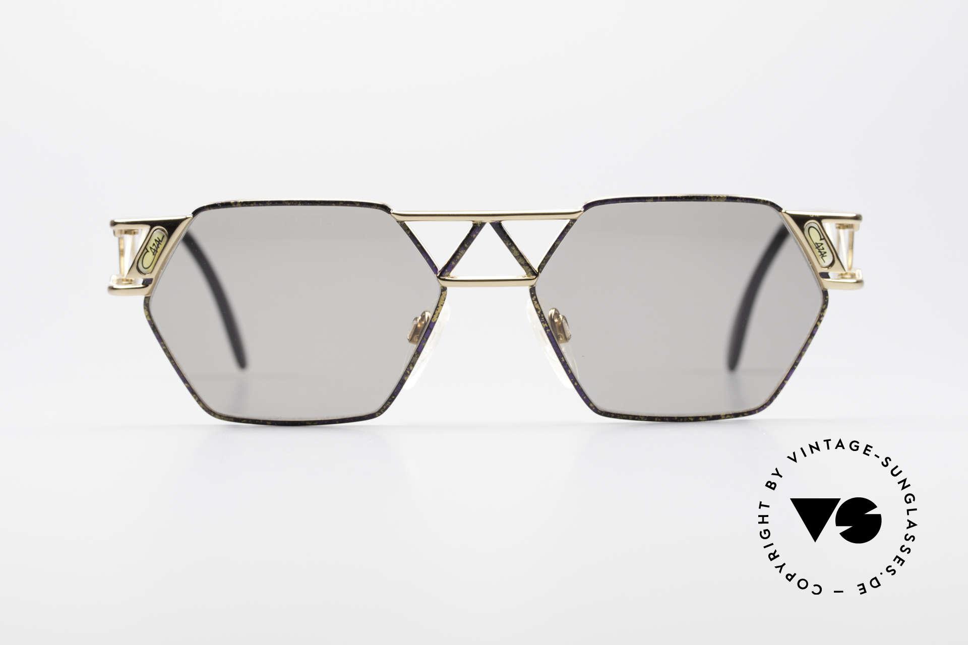 """Cazal 960 Vintage Designer Sonnenbrille, Steg und Bügel im Fachwerkstil (""""Eiffelturm-Style""""), Passend für Herren und Damen"""