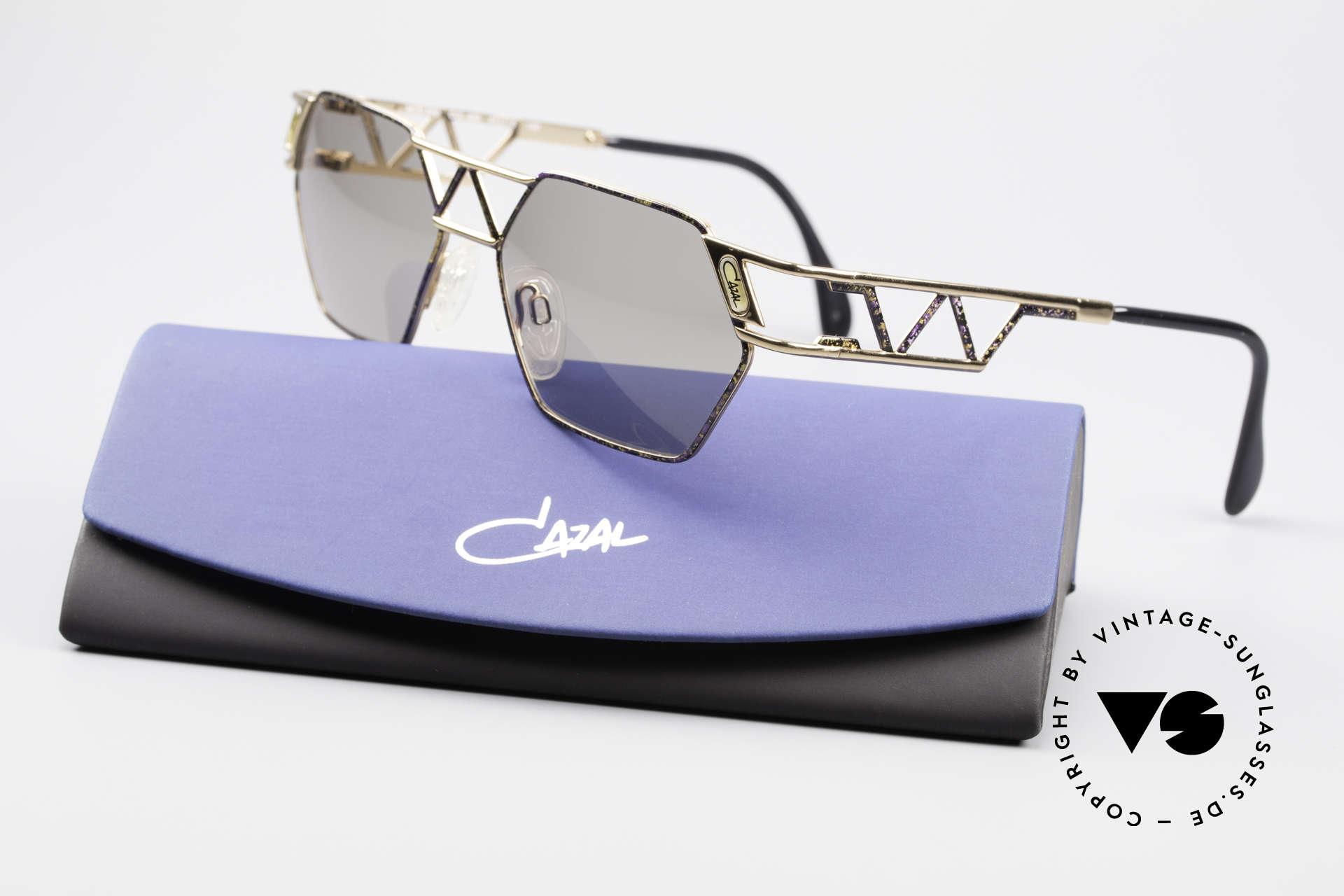 Cazal 960 Vintage Designer Sonnenbrille, Größe: large, Passend für Herren und Damen