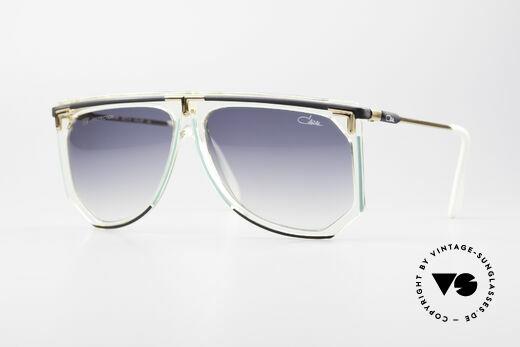 Cazal 865 Vintage Hip Hop Sonnenbrille Details