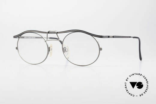 Cazal 1110 - Point 2 90er Industrial Vintage Brille Details
