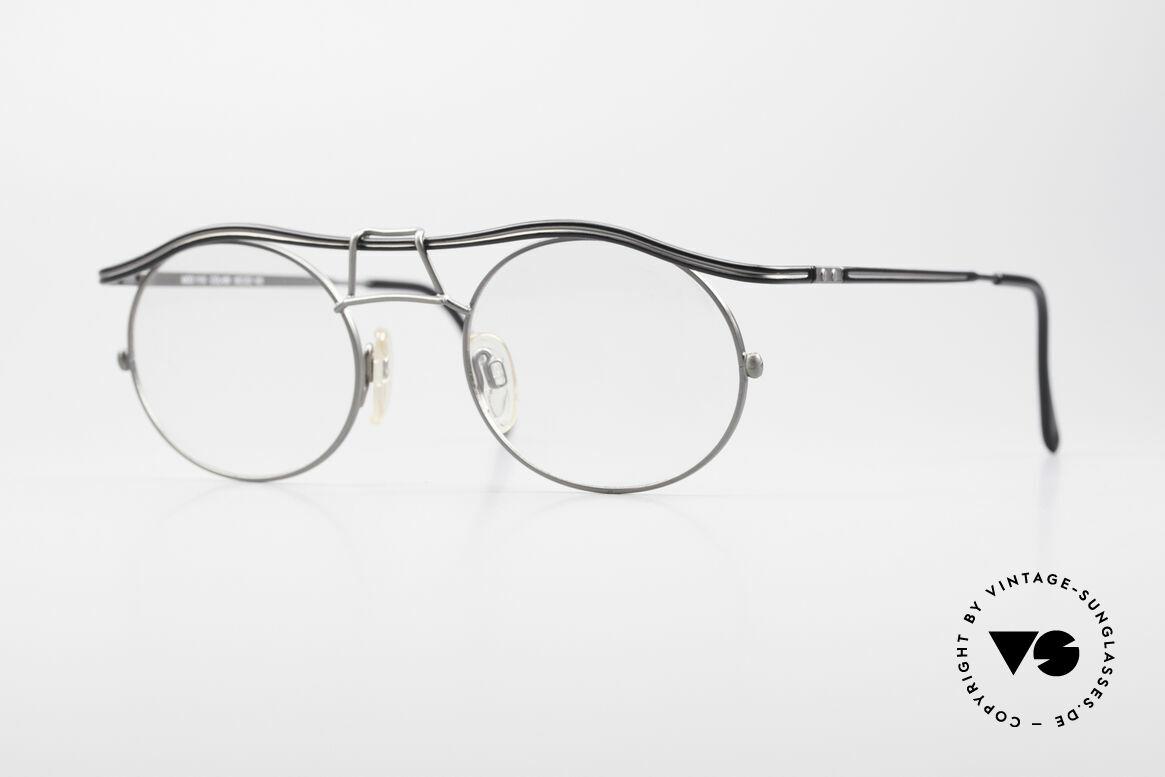 Cazal 1110 - Point 2 90er Industrial Vintage Brille, 1110 = eines der Top-Modelle der CAZAL 'Point 2' Serie, Passend für Herren