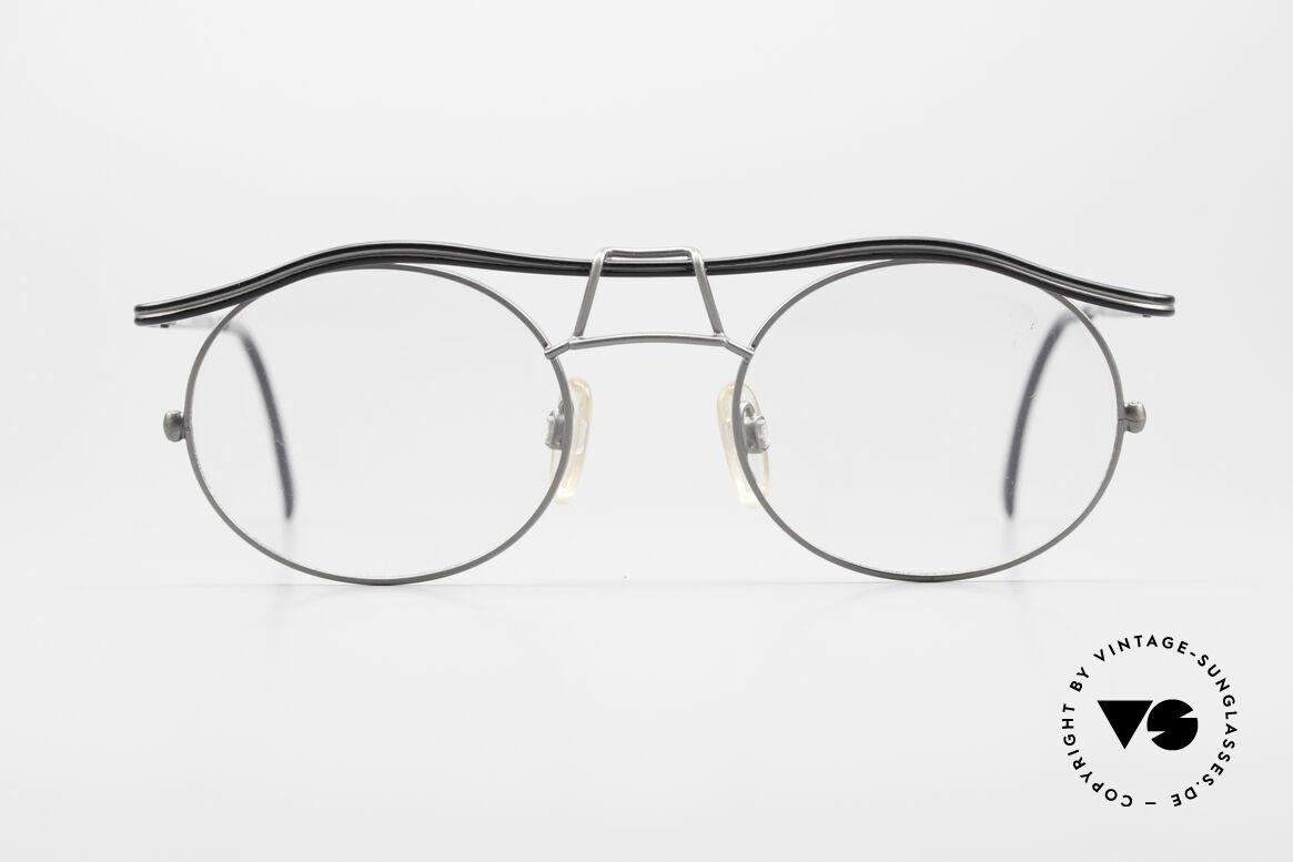 Cazal 1110 - Point 2 90er Industrial Vintage Brille, erinnert etwas ans 90er Industrial / Steampunk-Design, Passend für Herren