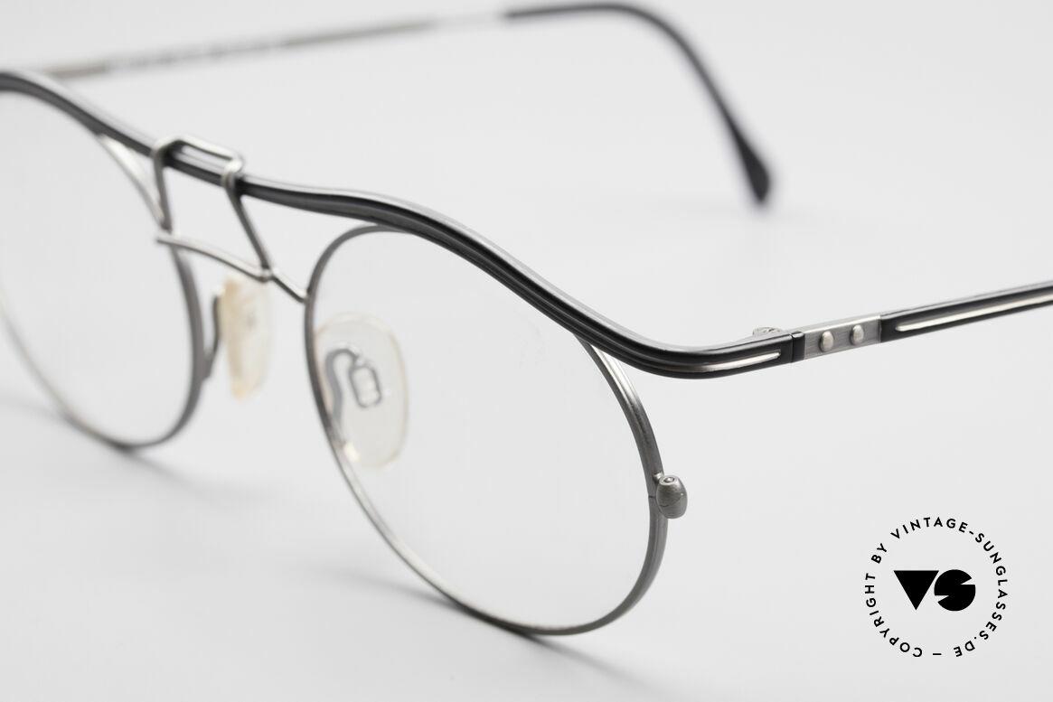 Cazal 1110 - Point 2 90er Industrial Vintage Brille, ungetragen (wie alle unsere vintage Designer-Brillen), Passend für Herren