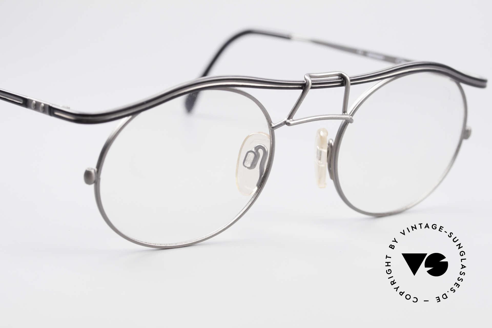 Cazal 1110 - Point 2 90er Industrial Vintage Brille, KEINE Retromode; sondern ein altes Original von 1999, Passend für Herren