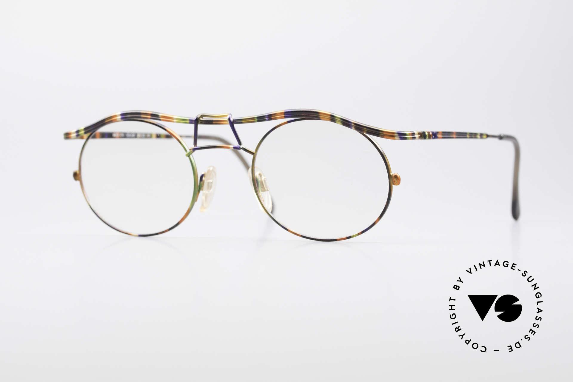 Cazal 1110 - Point 2 90er Industrial Designer Brille, 1110 = eines der Top-Modelle der Cazal 'Point 2' Serie, Passend für Herren