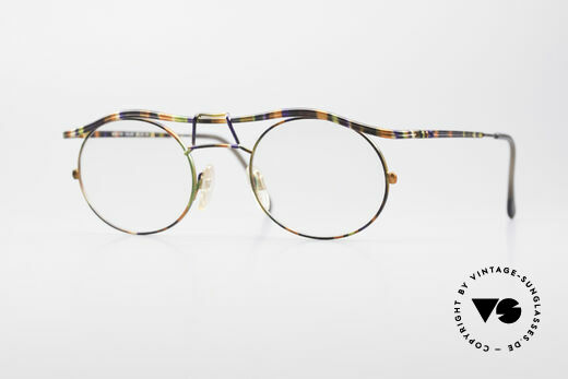 Cazal 1110 - Point 2 90er Industrial Designer Brille Details
