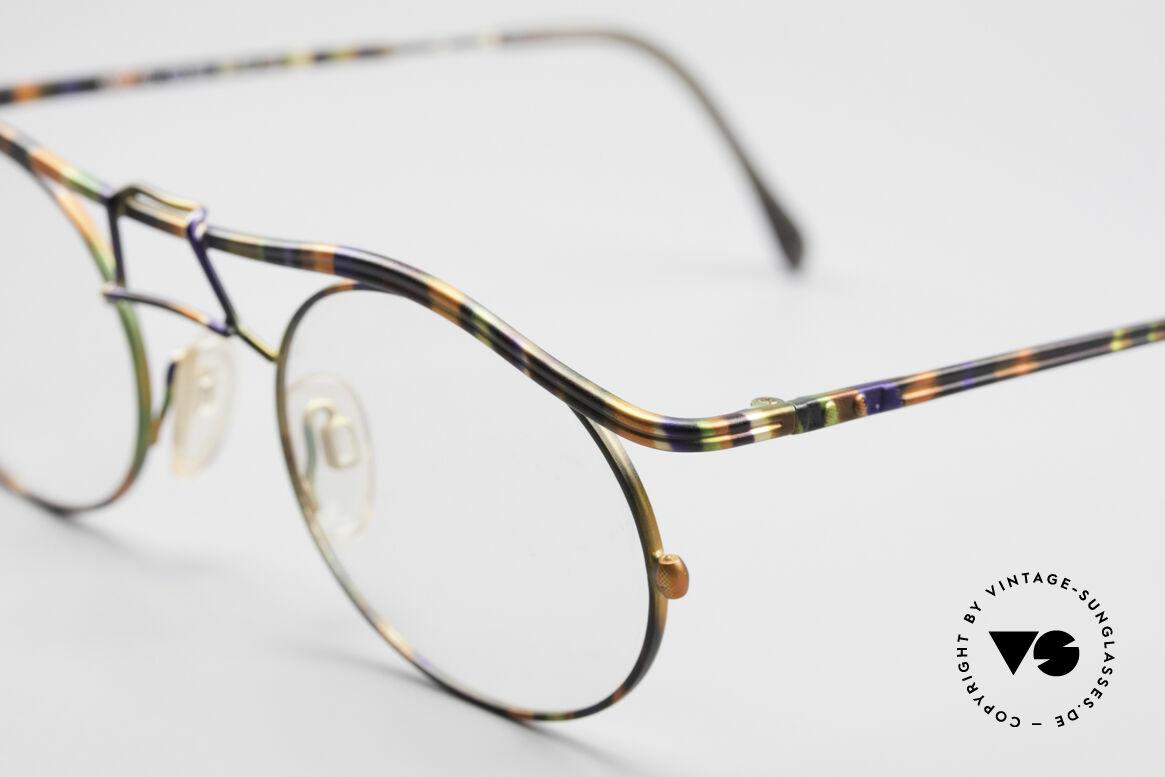 Cazal 1110 - Point 2 90er Industrial Designer Brille, ungetragen (wie alle unsere vintage Designer-Brillen), Passend für Herren