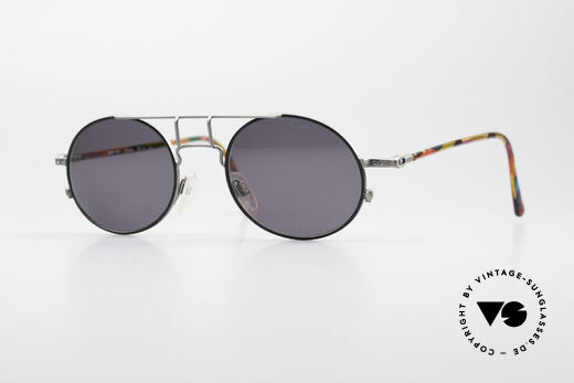 Cazal 1201 - Point 2 90er Industrial Sonnenbrille Details