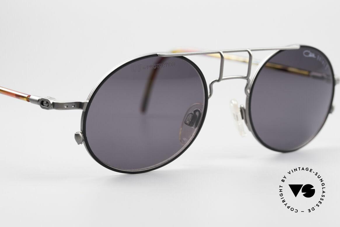 Cazal 1201 - Point 2 90er Industrial Sonnenbrille, KEINE Retromode; sondern ein altes Original von 1999, Passend für Herren