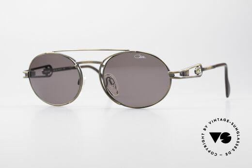 Cazal 965 Ovale Designer Sonnenbrille Details