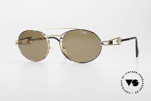 Cazal 965 Ovale Vintage Sonnenbrille Details