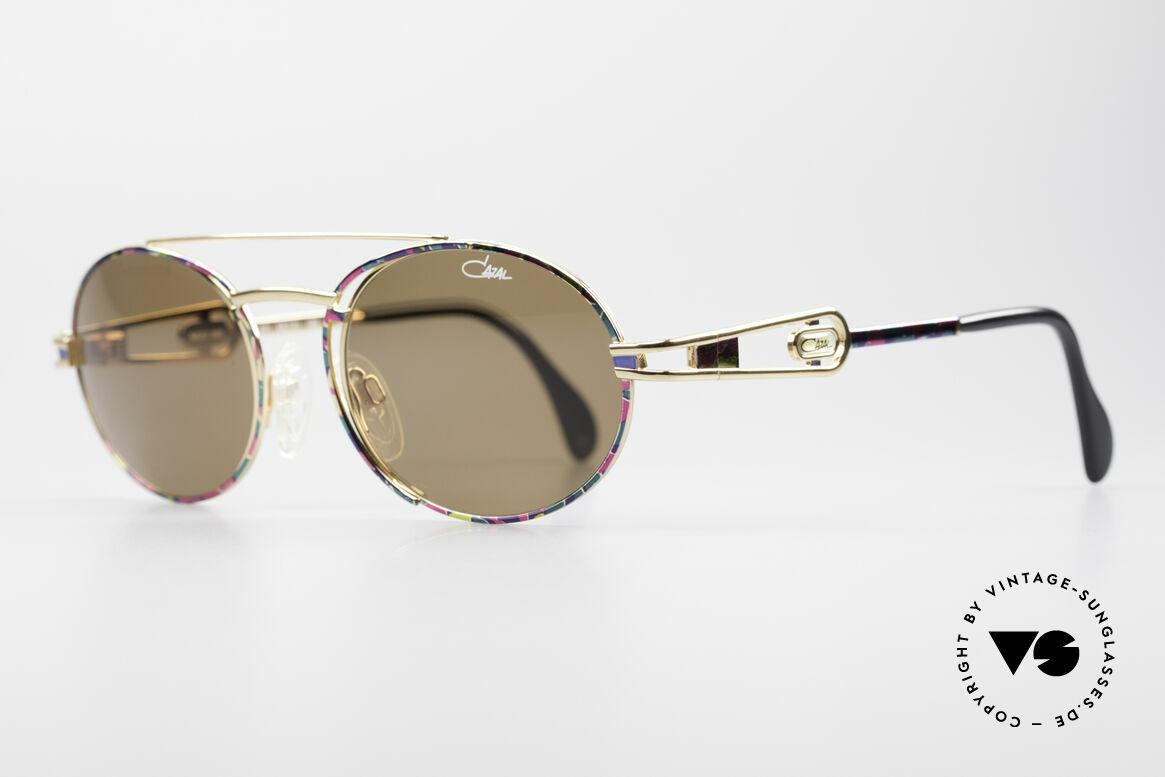 Cazal 965 Ovale Vintage Sonnenbrille