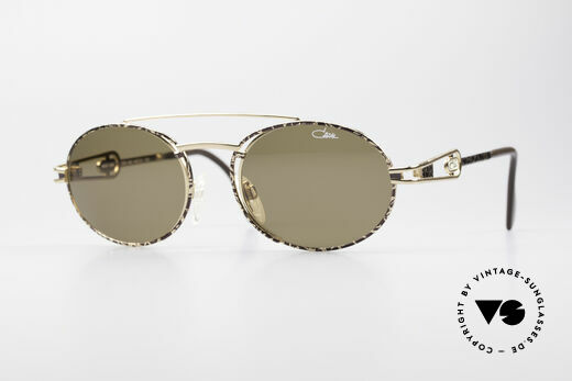 Cazal 965 Ovale 90er Sonnenbrille Details