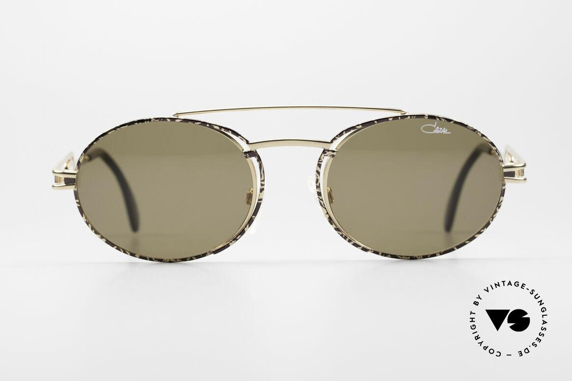"""Cazal 965 Ovale 90er Sonnenbrille, Design erinnert etwas an 'Industrial / Steampunk"""", Passend für Herren und Damen"""