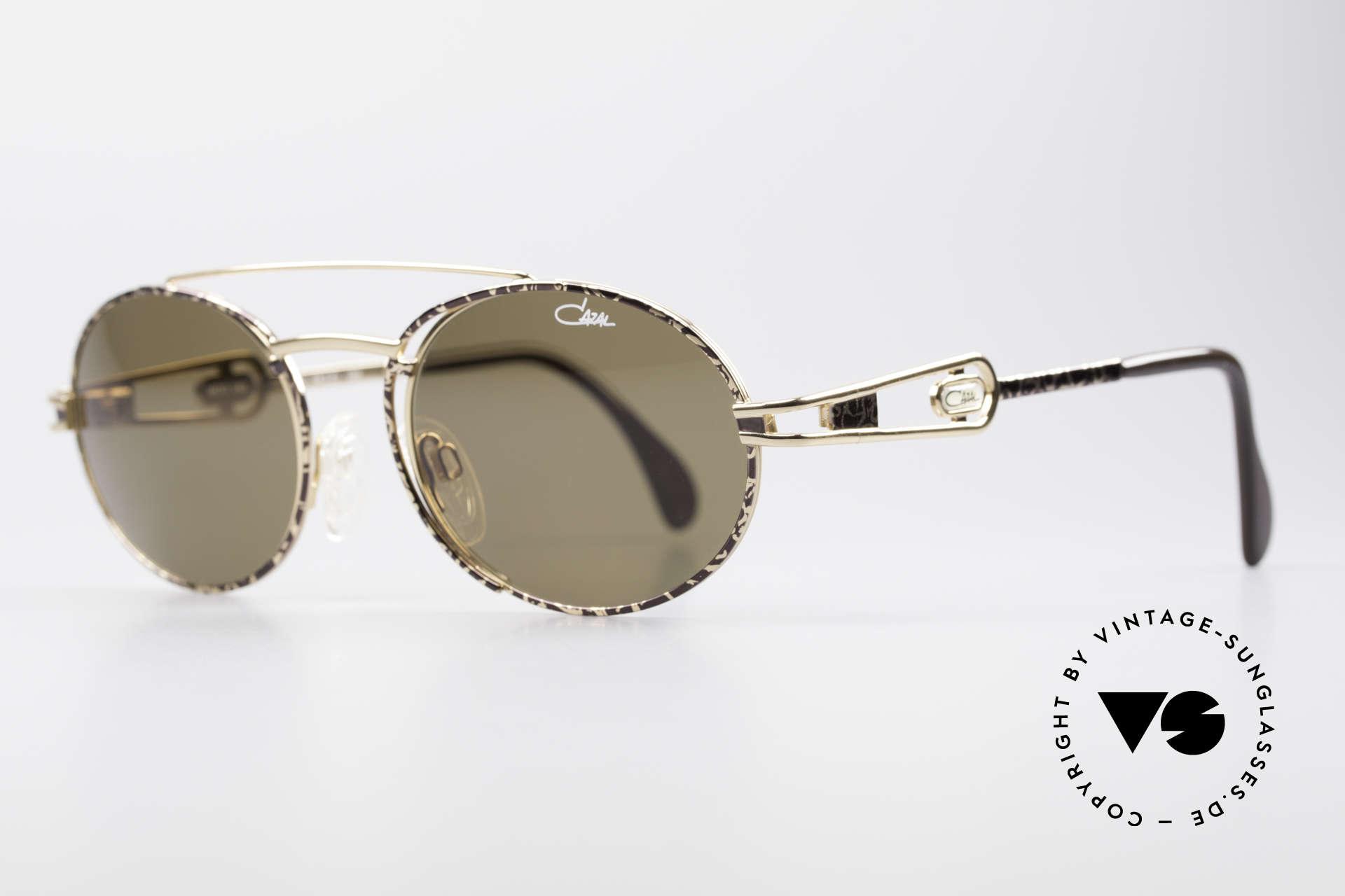 Cazal 965 Ovale 90er Sonnenbrille, herausragende Qualität (muss man einfach fühlen!), Passend für Herren und Damen