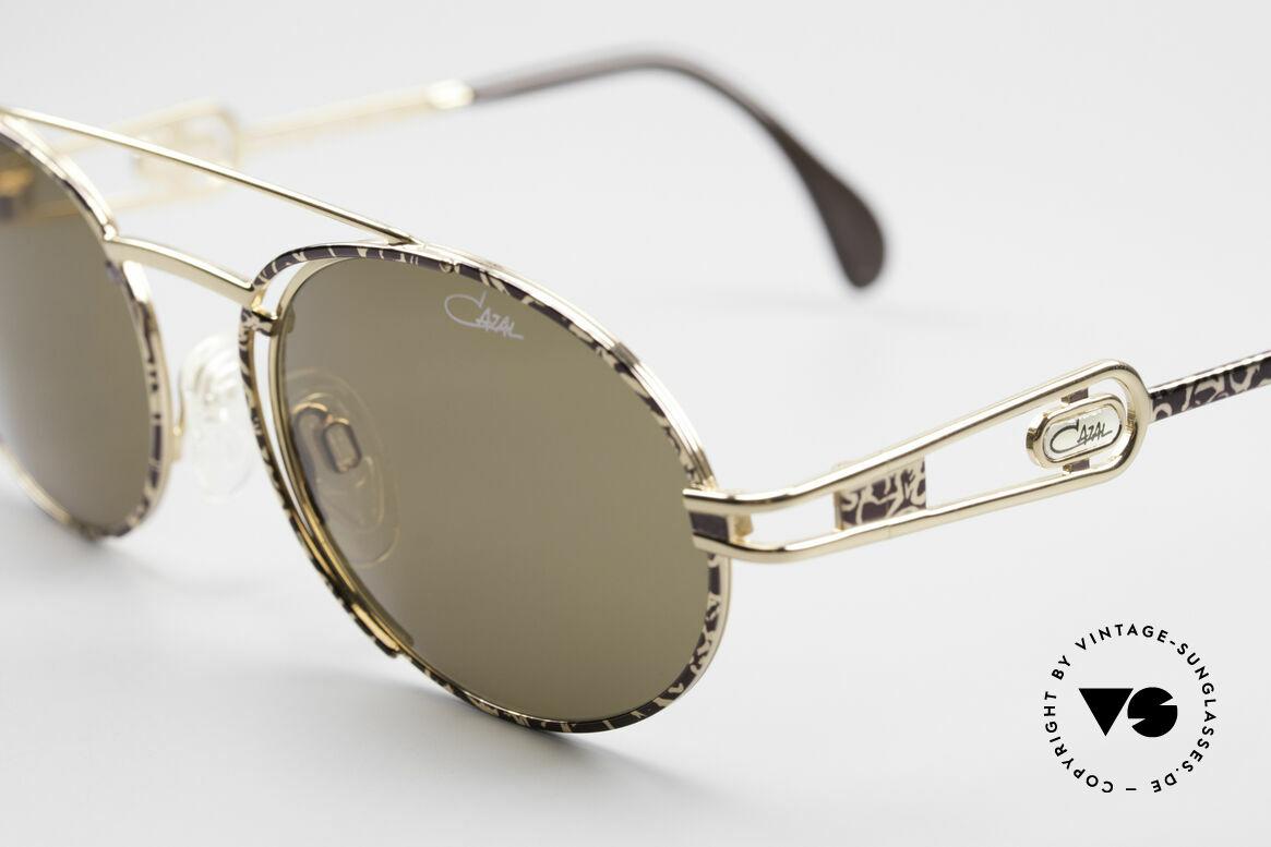 Cazal 965 Ovale 90er Sonnenbrille, tatsächlich noch 'made in GERMANY' (aus Passau), Passend für Herren und Damen