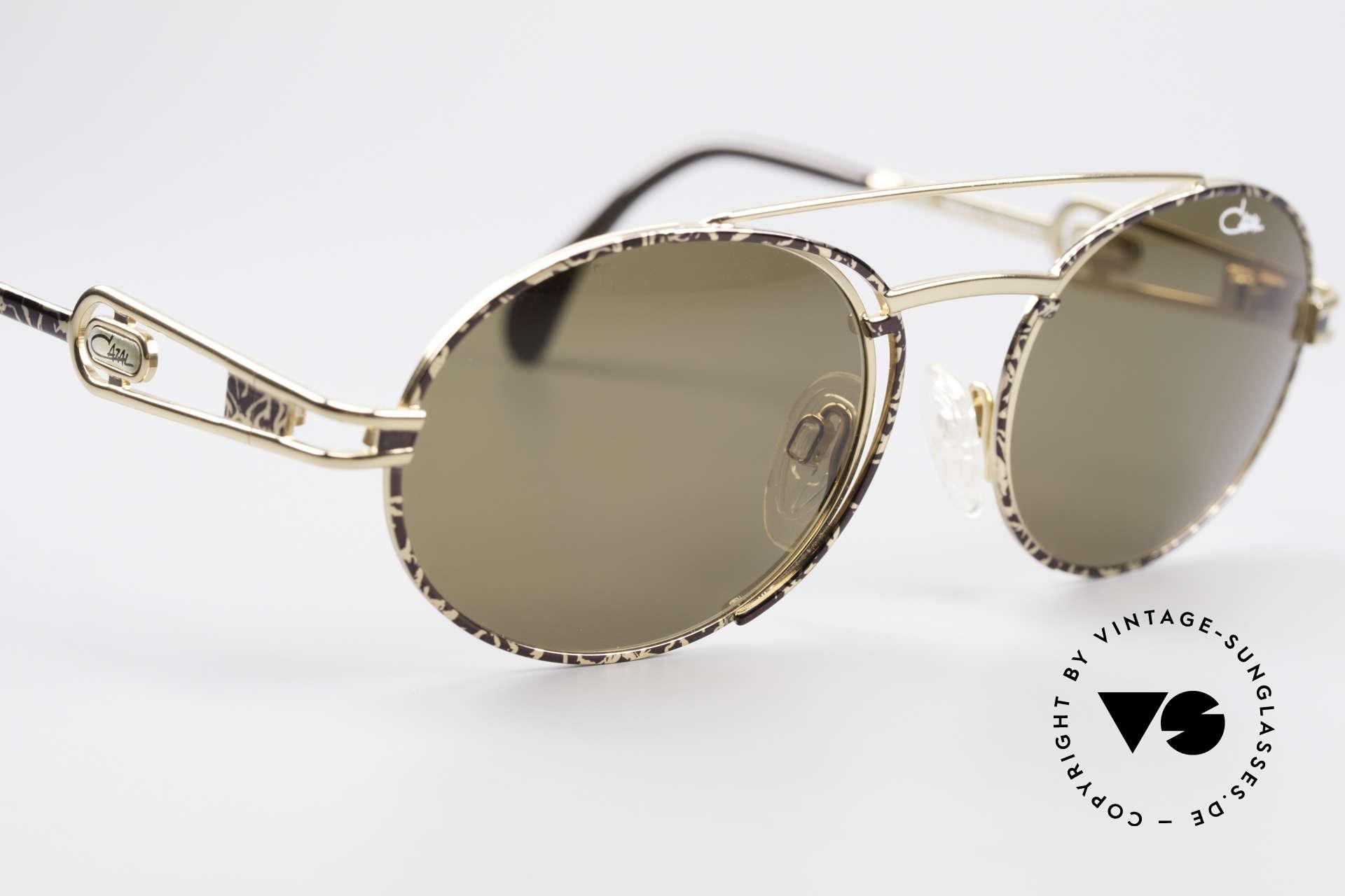 Cazal 965 Ovale 90er Sonnenbrille, ungetragen (wie alle unsere vintage Cazal Brillen), Passend für Herren und Damen