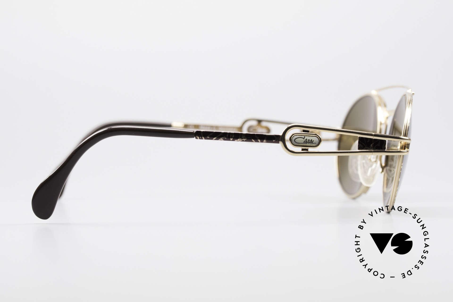 Cazal 965 Ovale 90er Sonnenbrille, KEINE RETRO Sonnenbrille, 100% vintage Original!, Passend für Herren und Damen