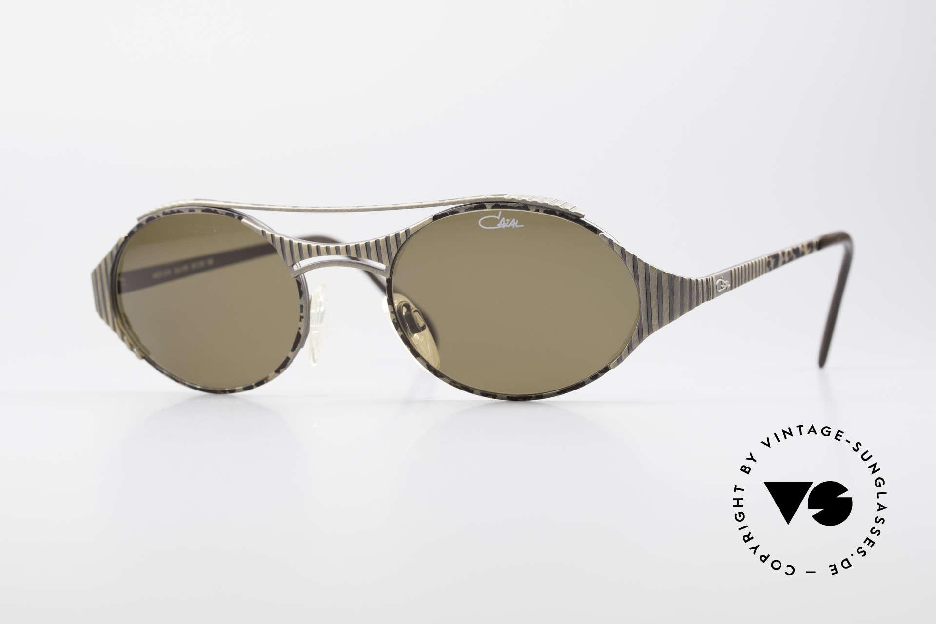 Cazal 978 Vintage Designer Sonnenbrille, großartiges CAZAL Design aus den späten 1990ern, Passend für Herren und Damen
