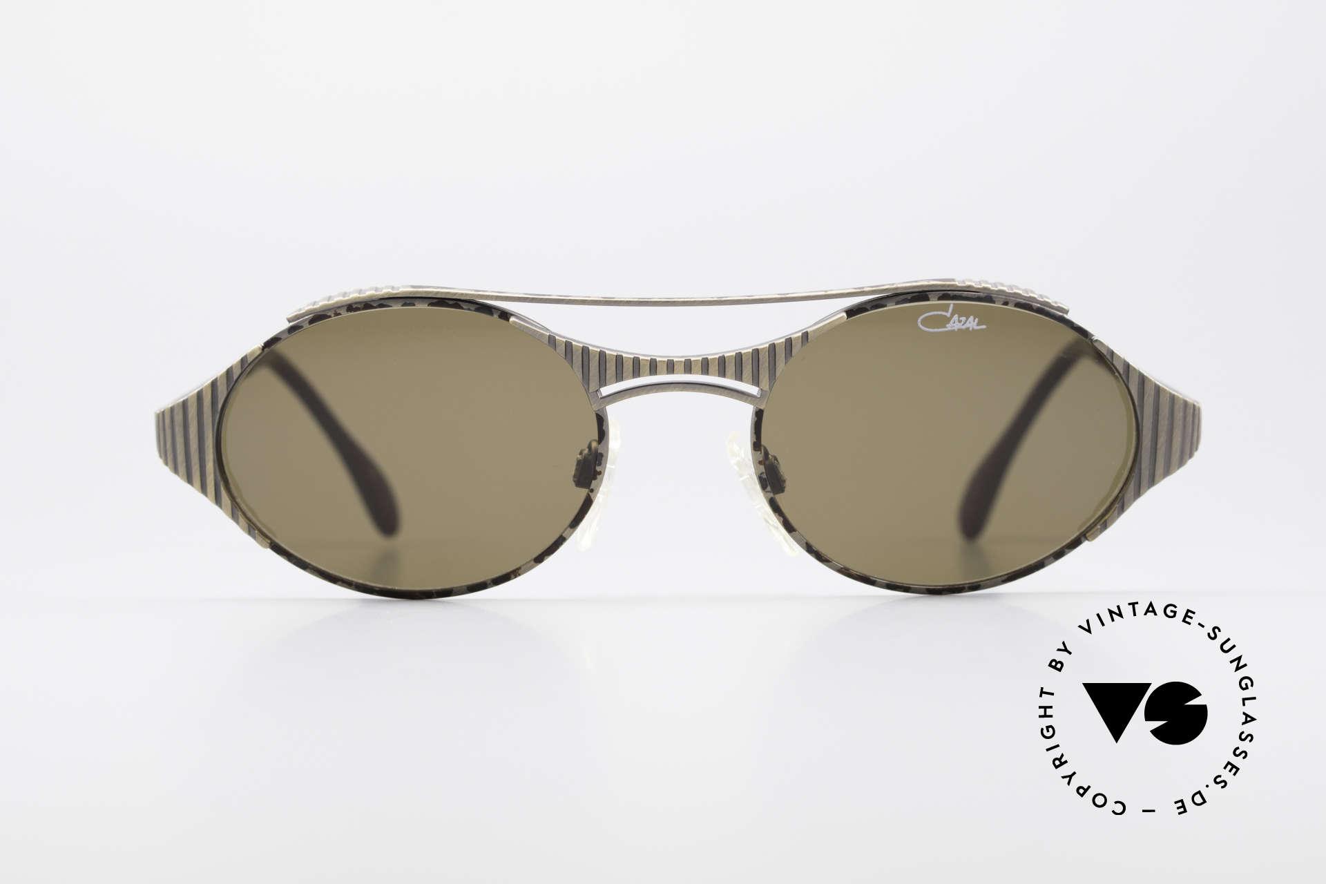 Cazal 978 Vintage Designer Sonnenbrille, unglaublich hochwertig (muss man einfach fühlen!), Passend für Herren und Damen