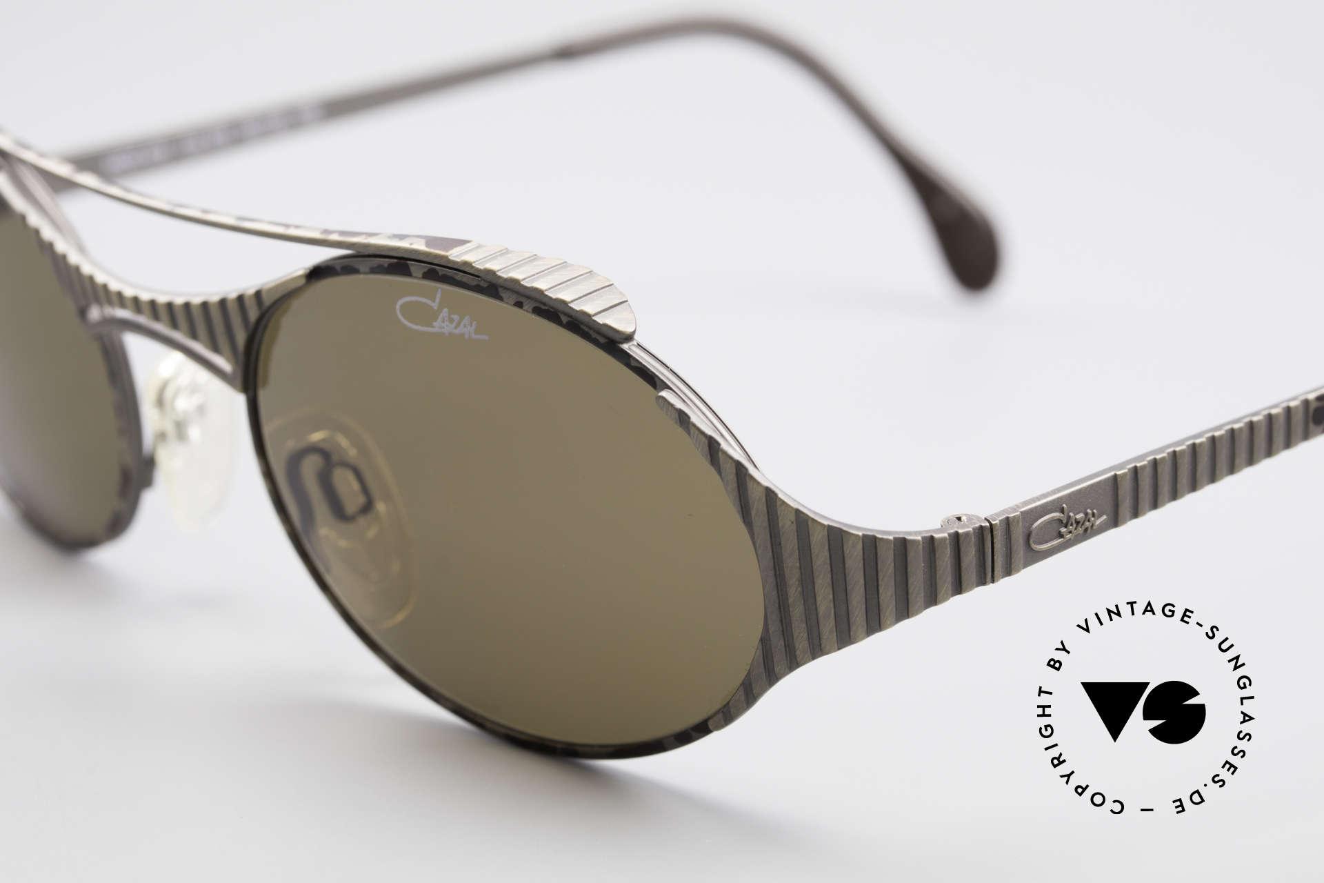Cazal 978 Vintage Designer Sonnenbrille, ungetragen (wie alle unsere vintage CAZAL Brillen), Passend für Herren und Damen