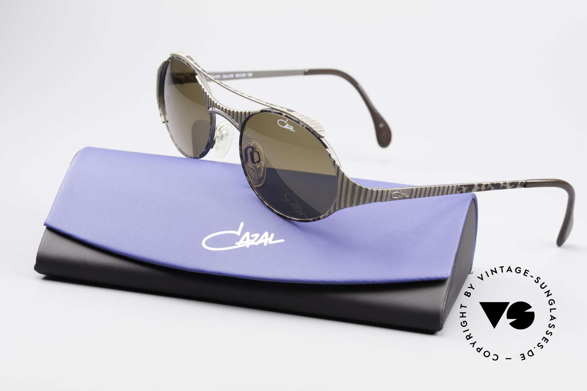 Cazal 978 Vintage Designer Sonnenbrille, Größe: large, Passend für Herren und Damen
