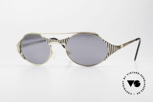 Cazal 978 Ovale Designer Sonnenbrille Details