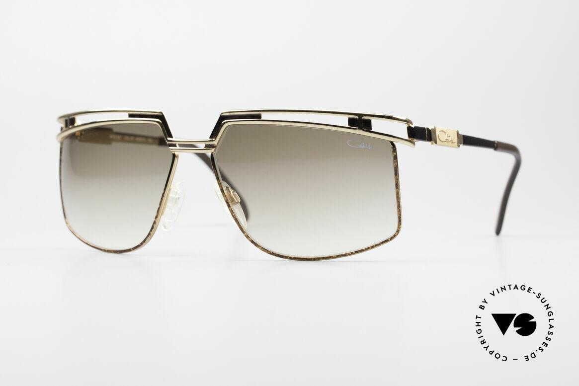 Cazal 957 80er West Germany Brille, große 1980er vintage Cazal XL Designer-Sonnenbrille, Passend für Herren und Damen