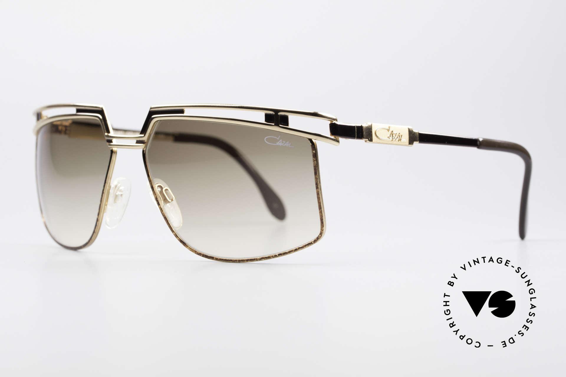 Cazal 957 80er West Germany Brille, prächtiges Designer-Stück; ein markanter Hingucker, Passend für Herren und Damen