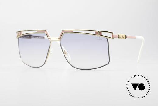 Cazal 957 Grosse HipHop Vintage Brille Details