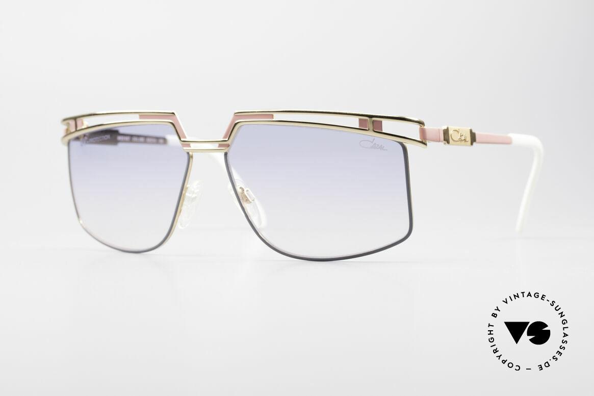 Cazal 957 Grosse HipHop Vintage Brille, große Designer-Sonnenbrille v. Cari Zalloni (CAZAL), Passend für Herren und Damen