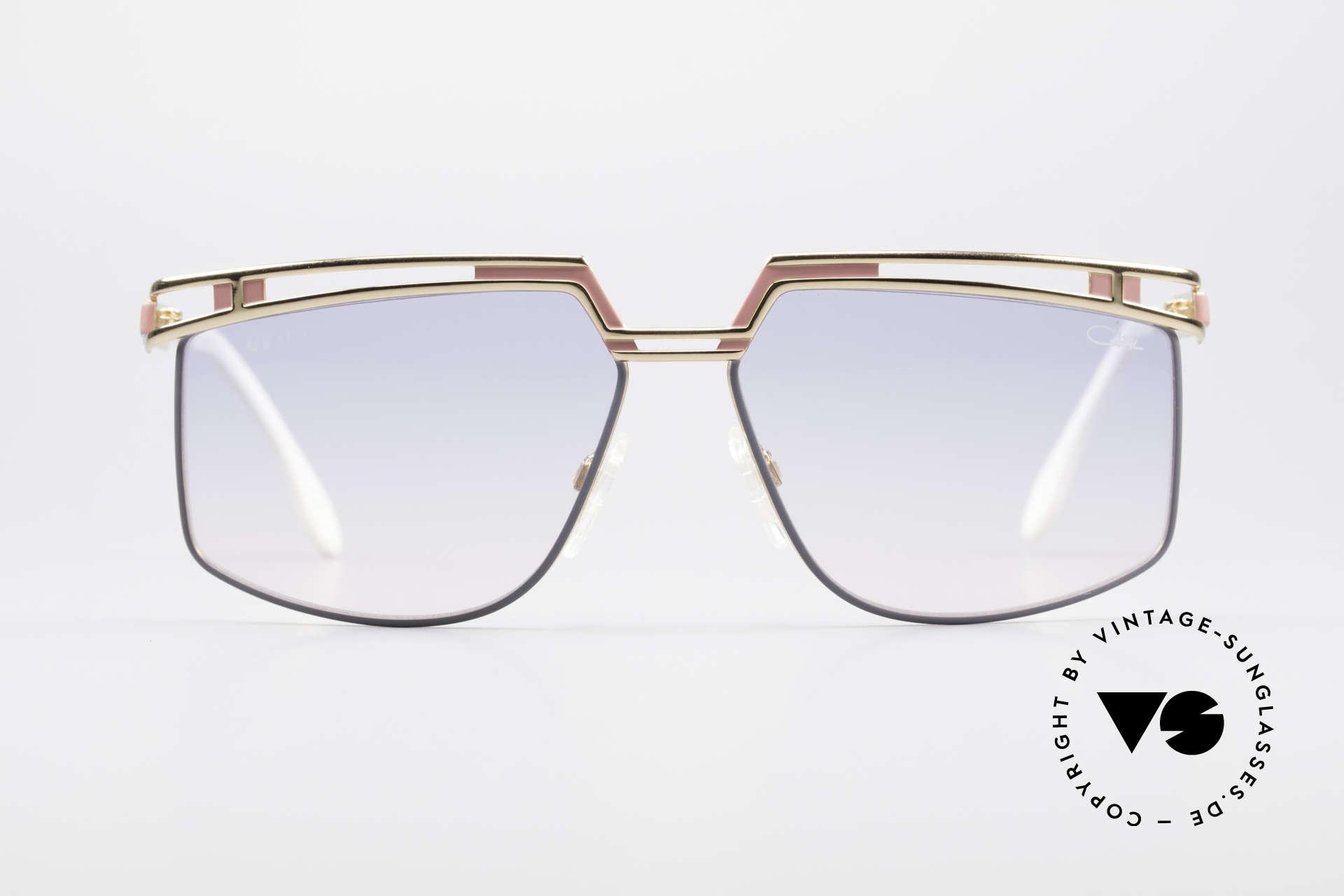 Cazal 957 Grosse HipHop Vintage Brille, Modell 957 gefertigt von circa 1988-1992 in Passau, Passend für Herren und Damen