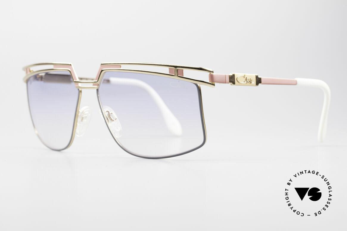 Cazal 957 Grosse HipHop Vintage Brille, prächtiges Designerstück & ein markanter Hingucker, Passend für Herren und Damen