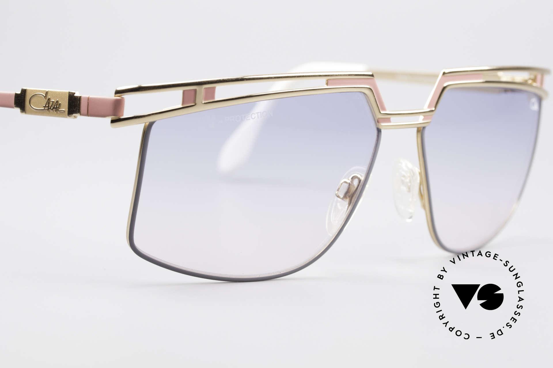 Cazal 957 Grosse HipHop Vintage Brille, ein altes Original mit orig. Verpackung; Sammlerstück, Passend für Herren und Damen
