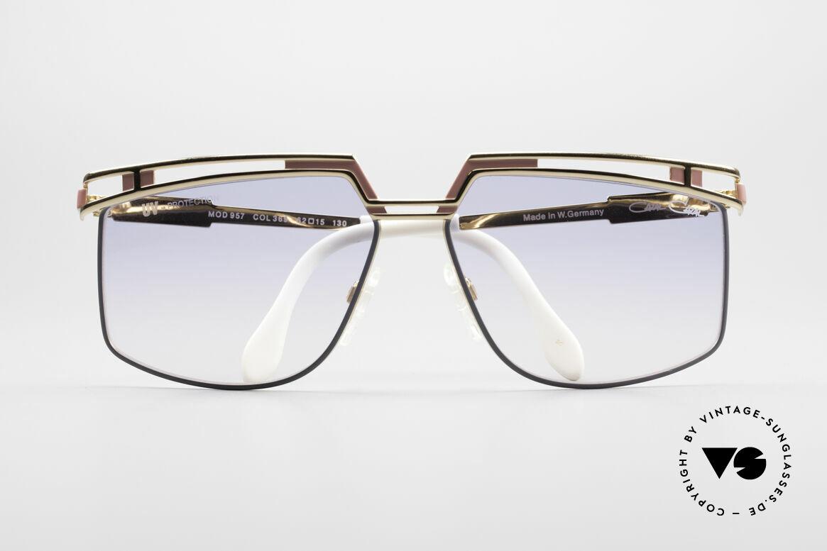 Cazal 957 Grosse HipHop Vintage Brille