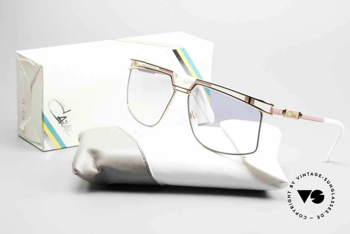 Cazal 957 Grosse HipHop Vintage Brille, KEINE REPRODUKTION, sondern kostbar authentisch, Passend für Herren und Damen