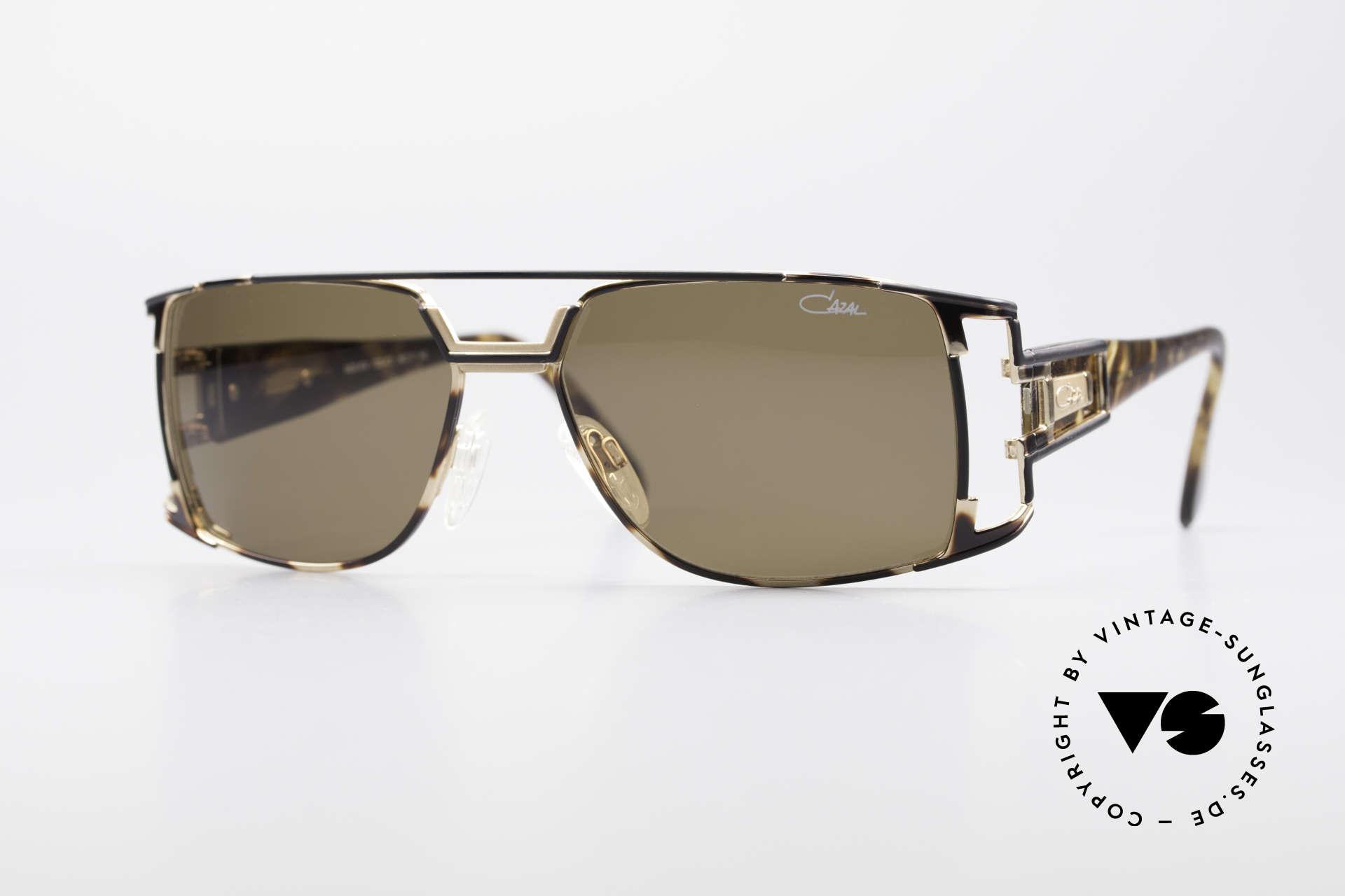 Cazal 974 Designer Brille Damen Herren, vintage CAZAL unisex Designer-Sonnenbrille von 1997, Passend für Herren und Damen