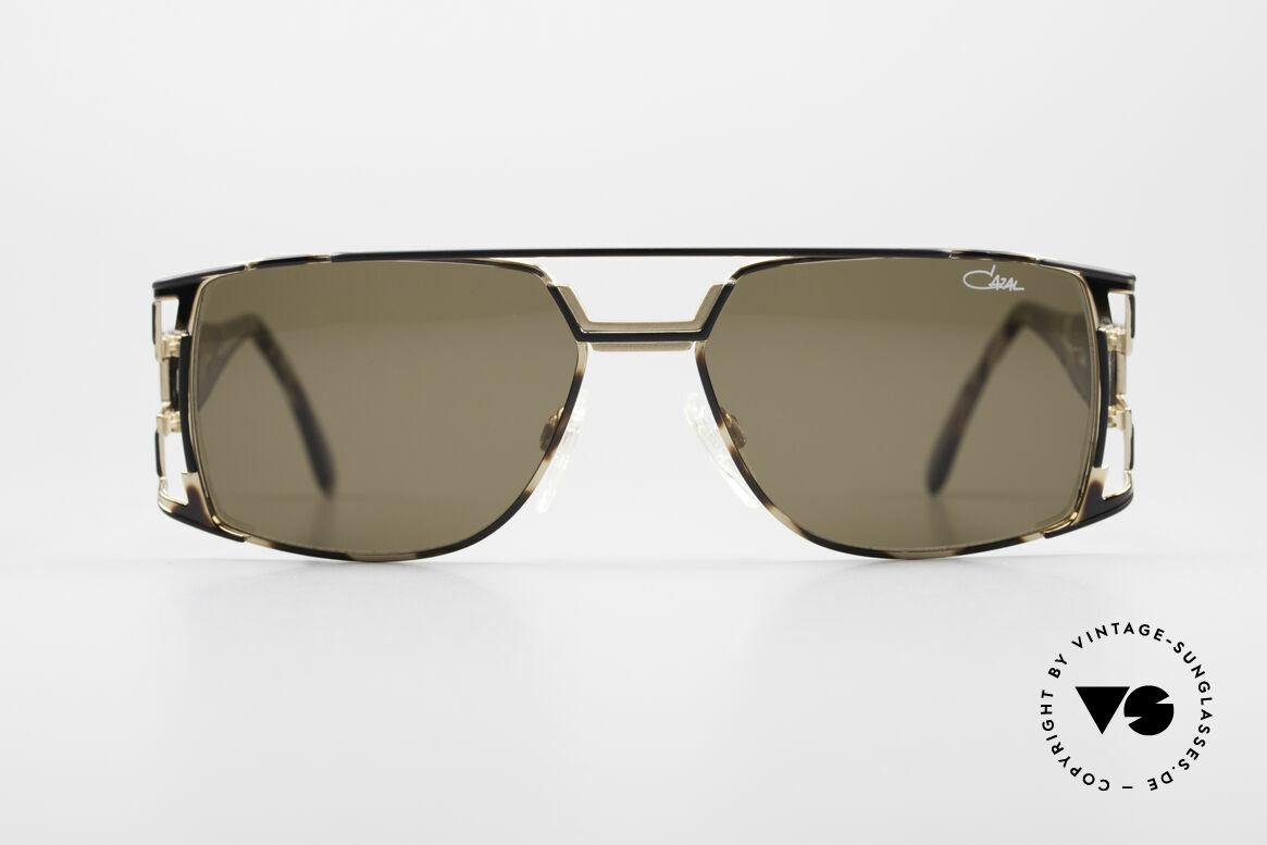 Cazal 974 Designer Brille Damen Herren, tolle Kombination von Design-Elementen & Materialien, Passend für Herren und Damen