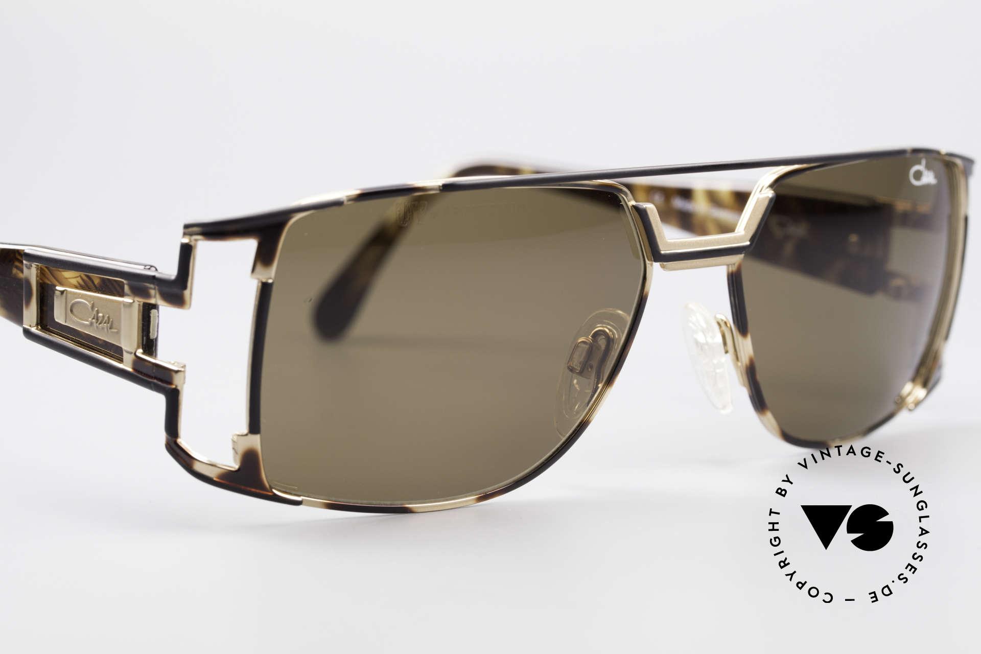 Cazal 974 Designer Brille Damen Herren, ungetragen (wie alle unsere 1990er Cazal Sonnenbrillen), Passend für Herren und Damen